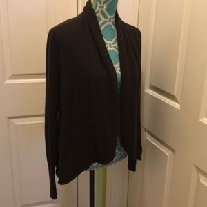 Saks Fifth ave Cashmere Sweater Jacket.